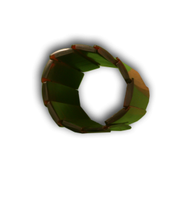 Manouk L178-2 Armband Donkerrood