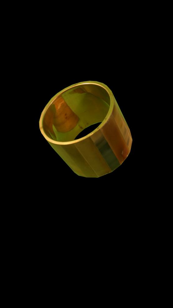 Manouk L057-2 Armband Armband Parelmoer-Goud