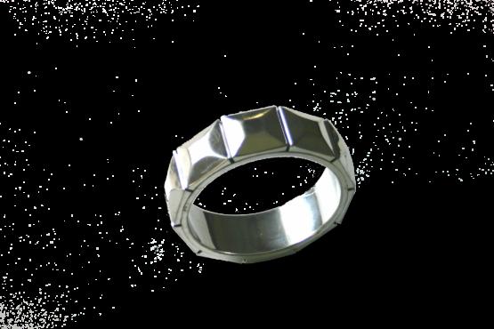 Manouk aa096-3 Armband Facet Zilver