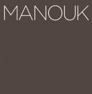 Logo van Manouk.