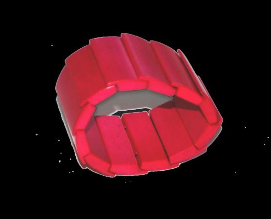Manouk p150-1 donkerroze armband