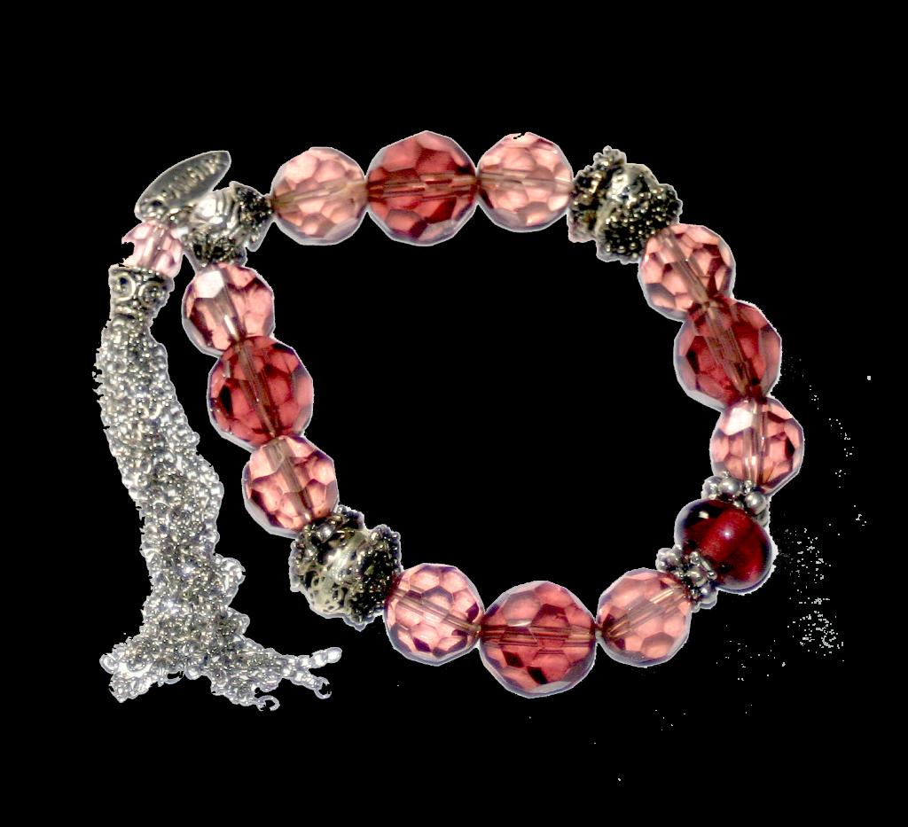 roze armband