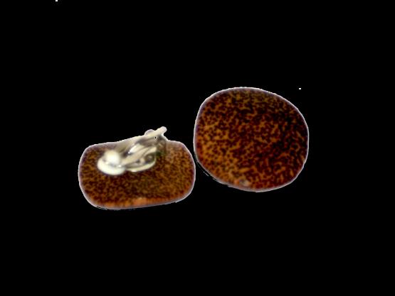 Manouk 4043-1 Luipaard Oorbellen