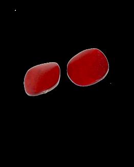 Manouk 4043-4 Red Carmin Oorbellen / bijoux