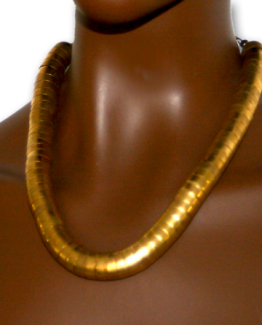 Manouk aa089-1_1 Geelkoperen Ketting