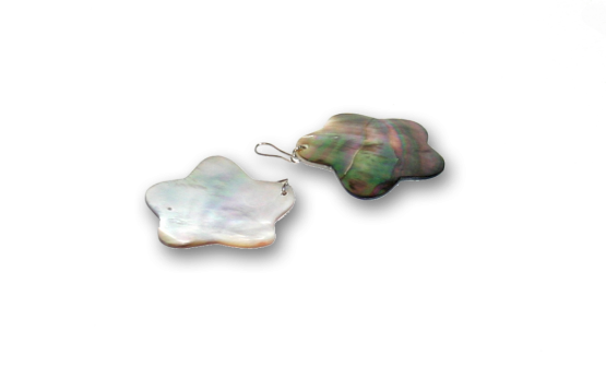 Manouk bb110-2 Pearl Star Oorbellen