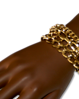 Manouk bb224-2 Armband Quatro Goud