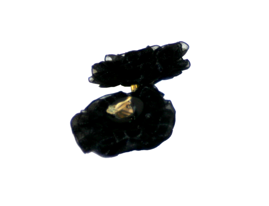 Manouk gg123-1 Black Rose Oorbellen