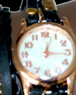 horloge rosegoud
