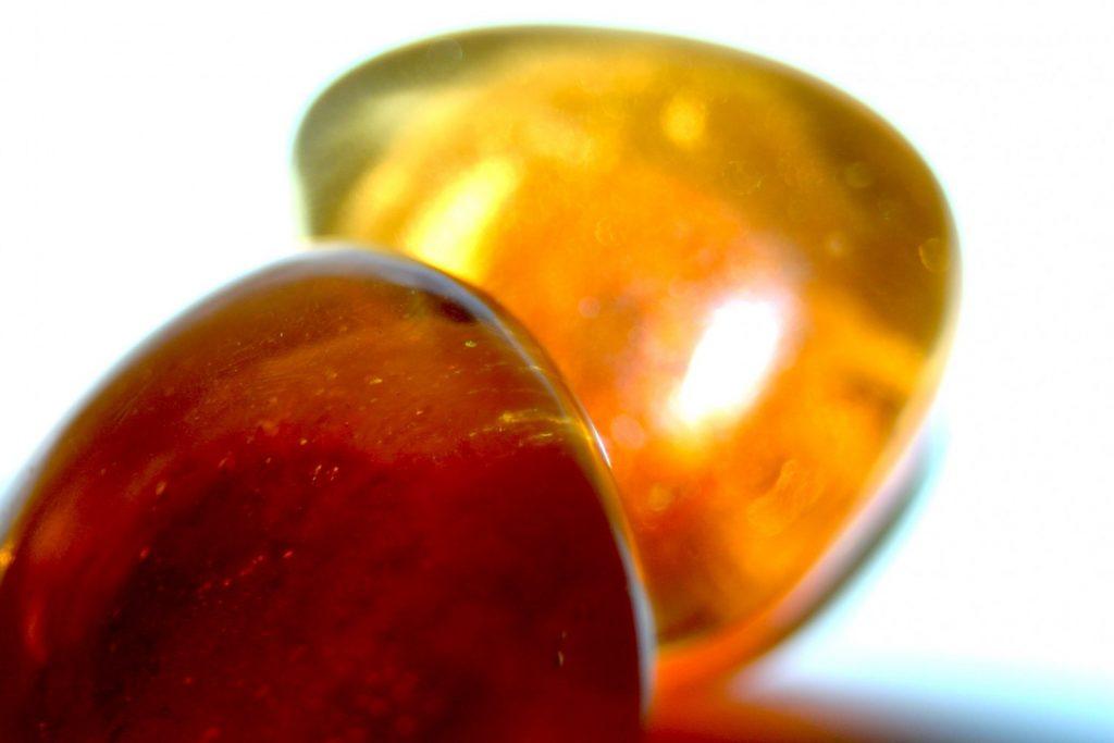 Manouk p213-2 Orange Light Oorbellen