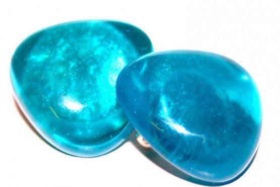 Manouk p213-3 Blue Light Oorbellen