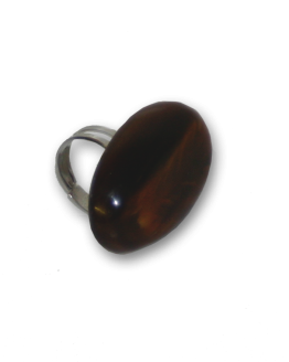 Manouk r177-3_1 Dark Wood Ring / Bijou / een maat