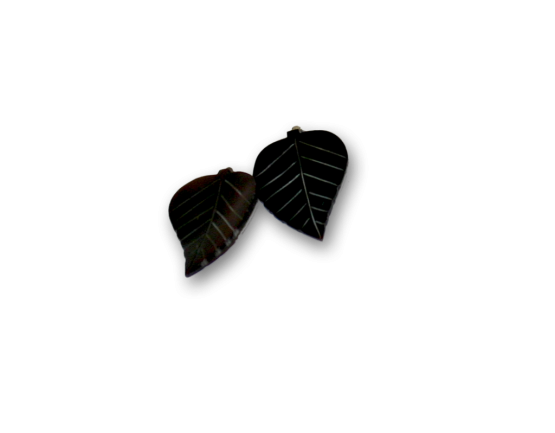 Manouk r191-2 Leaf Oorbellen