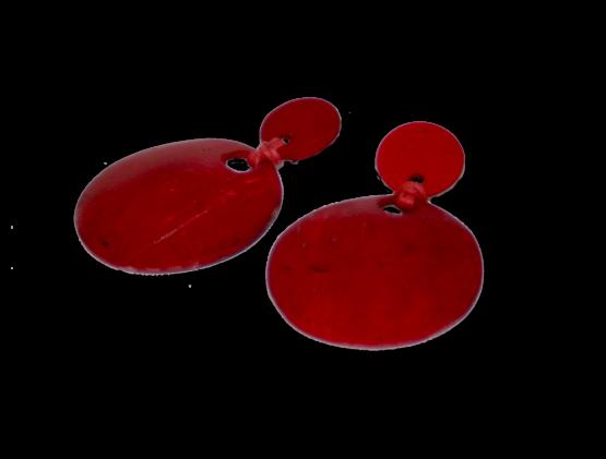 Manouk s162-2 Red Riding Hood Oorbellen / bijoux / clip
