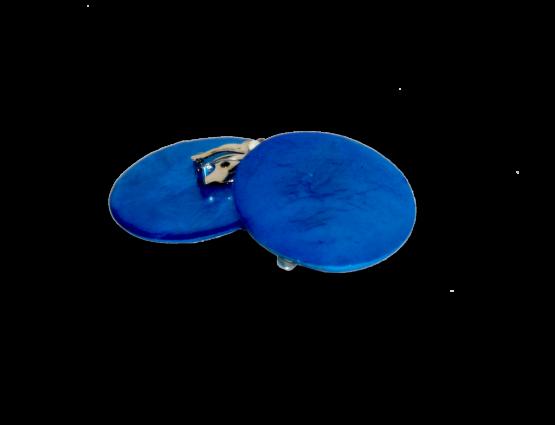 Manouk s171-1 Helder Blauw oorbellen