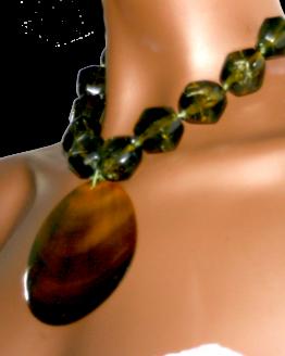Manouk s226-2 Sunny Green Ketting