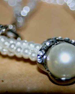 AA007-Parelsnoer-Ketting / Parels / bijoux / voordelig