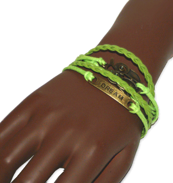 AA07 Armband Dream Green / bijoux / bohemian