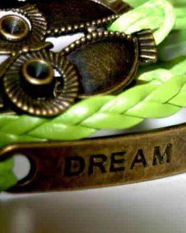 AA07 Armband Dream Green / bijoux / bohemian