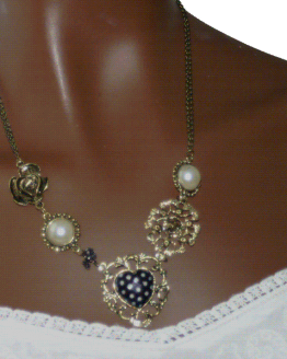 aa009 Ketting Sweet Pearl / bijoux / lovely