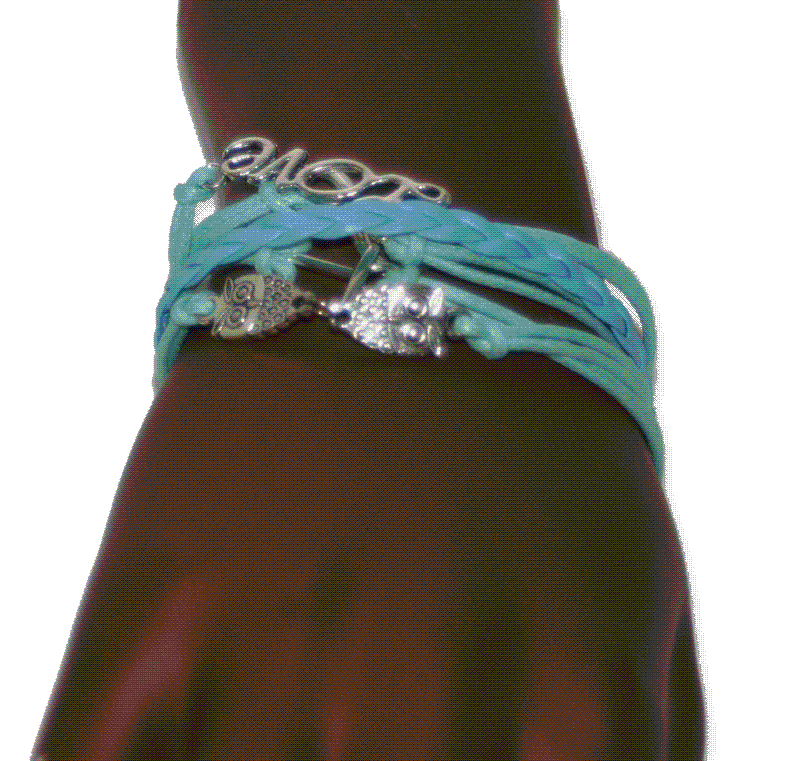 aa03 Armband Owl / Bijoux / Bohemian