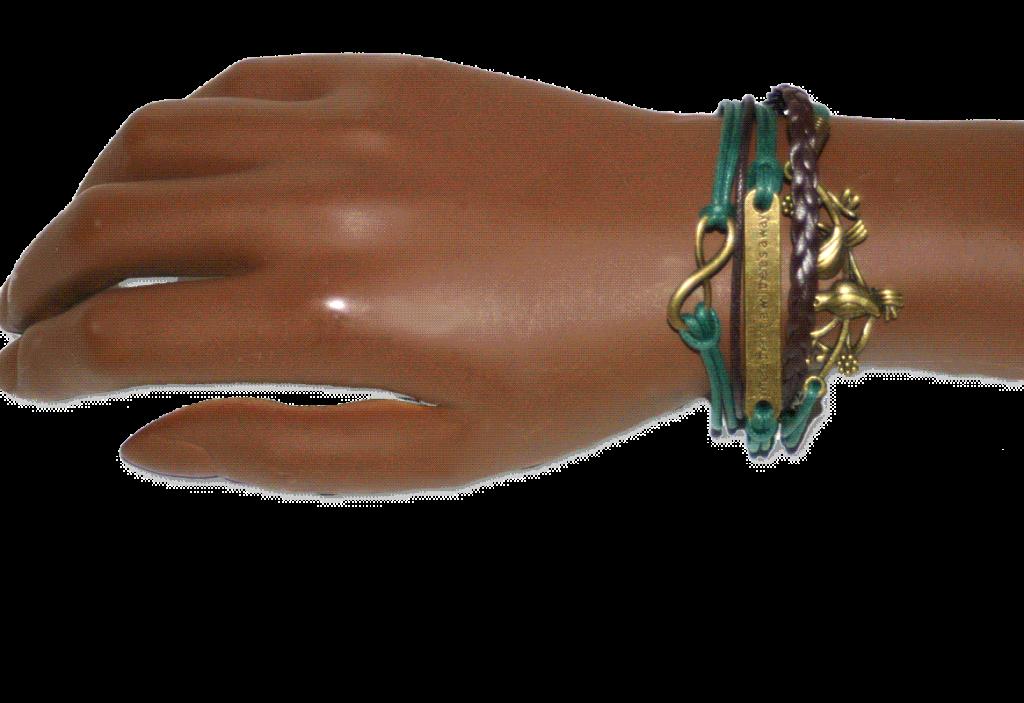 aa05 Armband Will / Bijoux/ leer