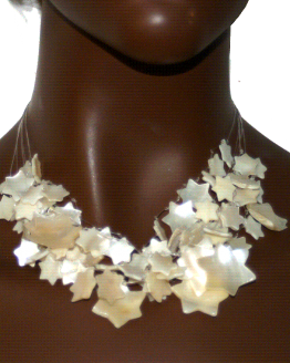 Manouk bb034-1 Pearl Star / Bijoux / Parelmoer / Statement