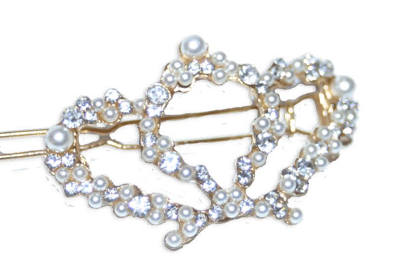 Haarclip Crown / bijoux/ accessoires / strass