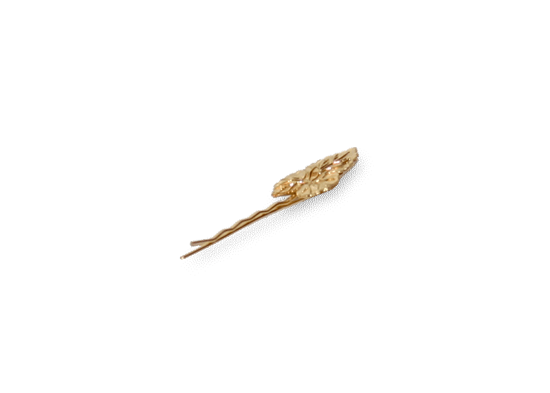 Haarclip Small Leaf / bijoux / accessoires / new