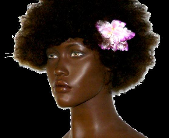 orchidee haarspeld_flower_roze / accessoires / wedding