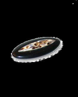 Manouk r126-1 Sierspeld Formal Black / bijoux / broche