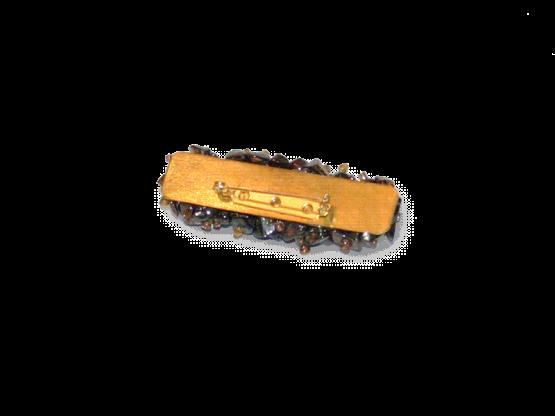Manouk s087-999 Sierspeld Beadstrip Purple / bijoux / broche