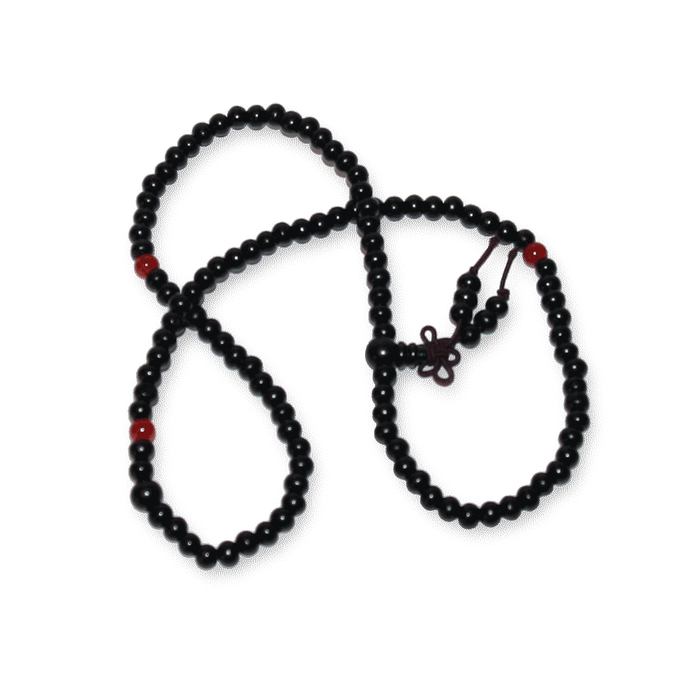 aa0013-Ketting-Rosary-Black