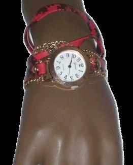 Horloge Red Wrap