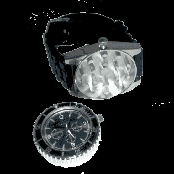 grinder horloge zwart
