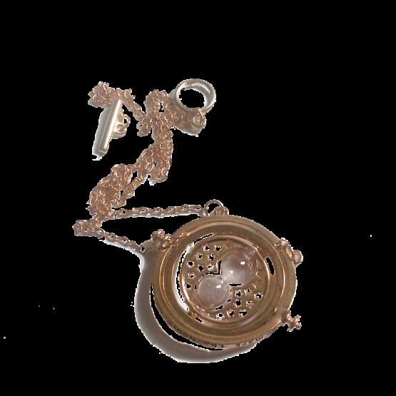 ketting hourglass / bijoux / chain / plated / design