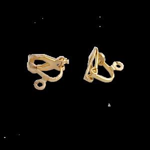 Ombouw haakje naar clip on / bijoux / goud / model 1 / geen gaatje