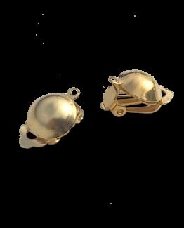 Ombouw haakje naar clip on / bijoux / goud / model 2 / geen gaatje