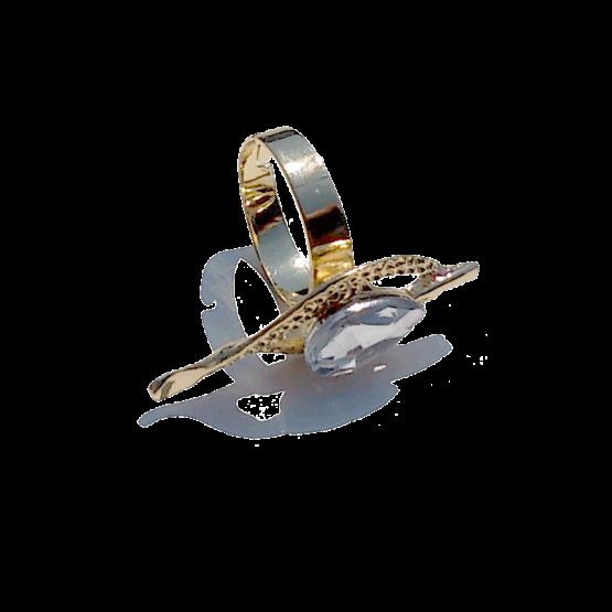Sieraden Set Fedora / bijoux / goud / strass / compleet / Oorbellen