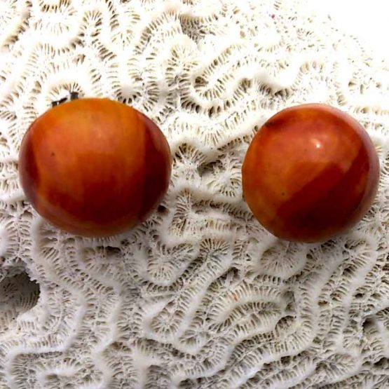 Manouk Wood Sphere / bijoux / Design / Natural / clip