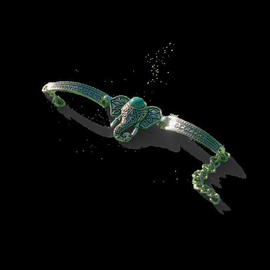 Boho Dombo Armband / bijoux / turquoise / bohemian
