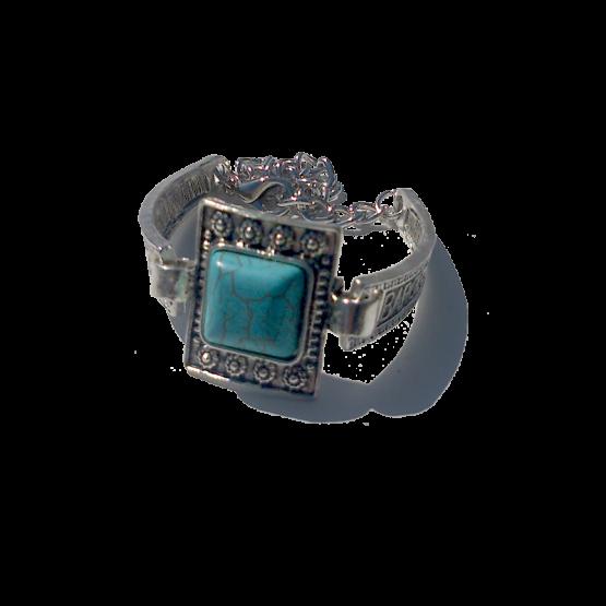 Armband Barca / Boho - Bohemian / Turquoise / Zilver