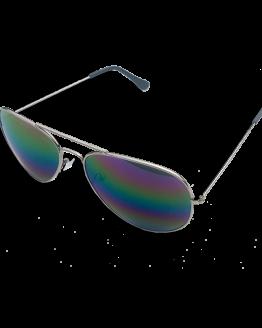 Zonnebril Houston / accessoires / spiegelbril / pilotenbril / paarsgroen