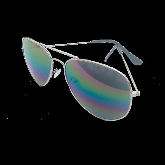 Zonnebril Houston / accessoires / spiegelbril / pilotenbril / paarsblauw