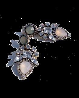 Strass Xtra Oorbellen 2 / budgetline / bijoux / opvallend