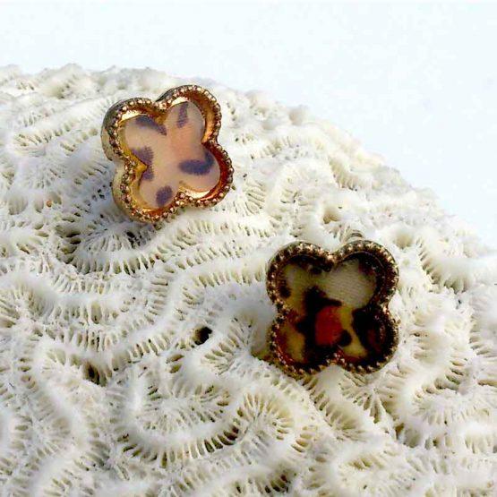 Clover4 Oorbellen / bijoux / multicolour / earring / budgetline