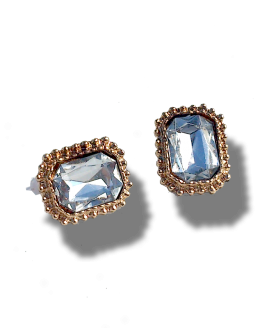 Audrey Oorbellen / bijoux / earring / budgetline / wit