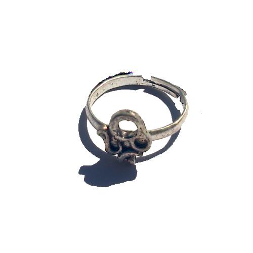 Boho Ring Klein 4 / Bijoux / zilverkleur / Bohemian / Betaalbaar