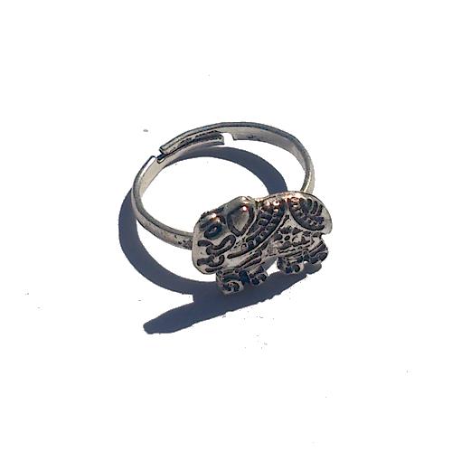 Boho Ring Klein 3 / Bijoux / zilverkleur / Bohemian / Betaalbaar