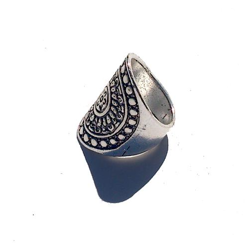 Boho Ring Groot 6 / bijoux / bohemian / betaalbaar